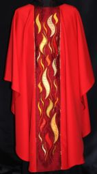 Pentecost Panel Chasuble